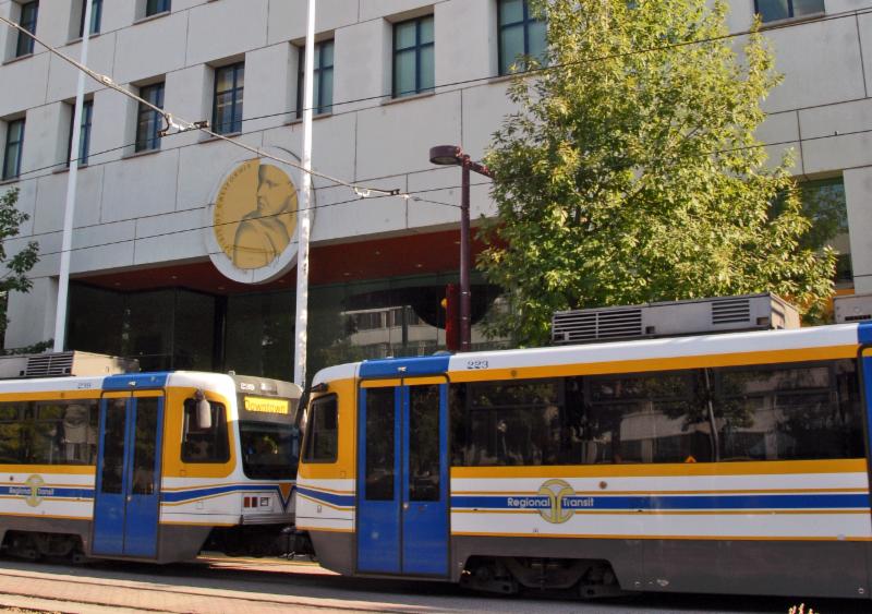 Regional Transit Light Rail photo