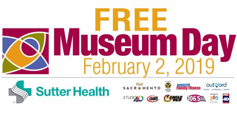 Sacramento Museum Day logo