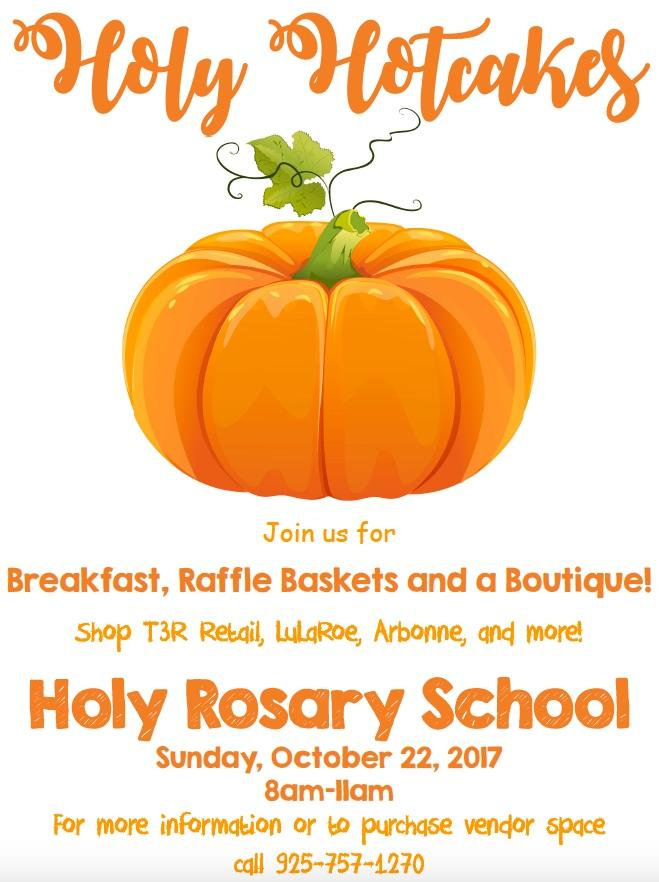 Newsletter from Holy Rosary School - Oct 19, 2017