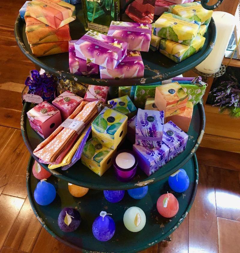 colorful soap