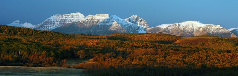 Glacier National Park Fall Photo