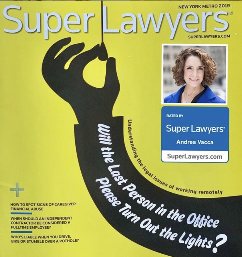 Andrea Vacca named 2019 Super Lawyer