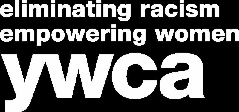 YWCA white logo
