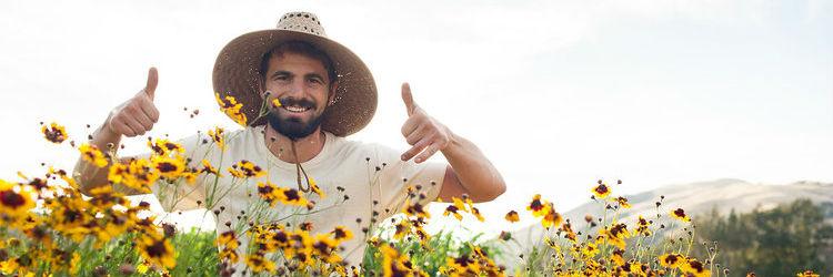 picture of farmer
