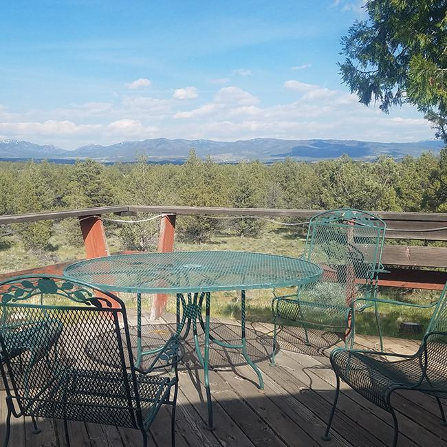 View from Modoc deck
