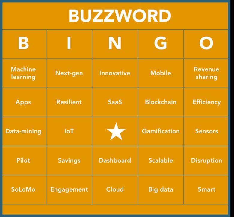 Buzzword Bingo 2