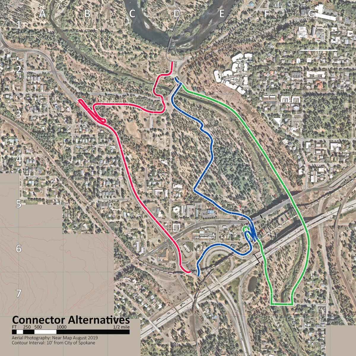 Fish Lake Trail Connection Options