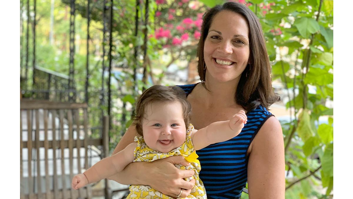 Brandi and her daughter