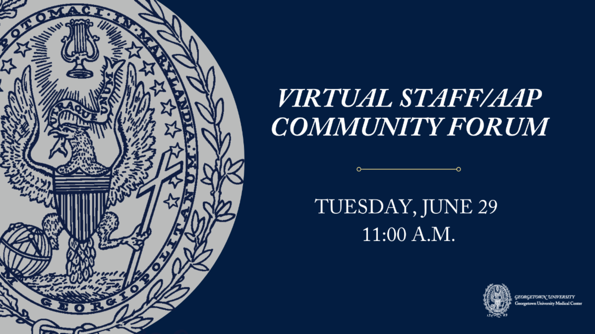 Virtual Staff AAP Community Forum Tuesday June 29 at 11 am