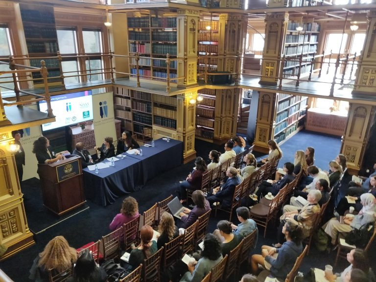 Georgetown Gender + Justice Initiative at the annual colloquium