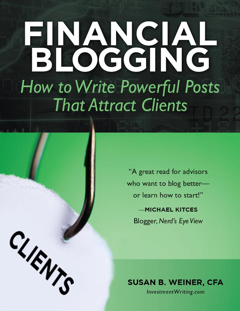Financial Blogging book cover