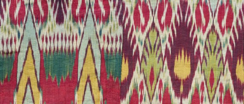 To Dye For: Ikats from Central Asia