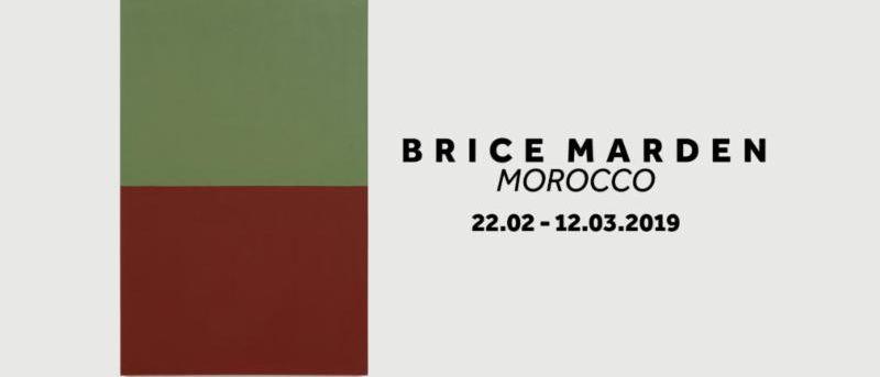 BRICE MARDEN MOROCCO