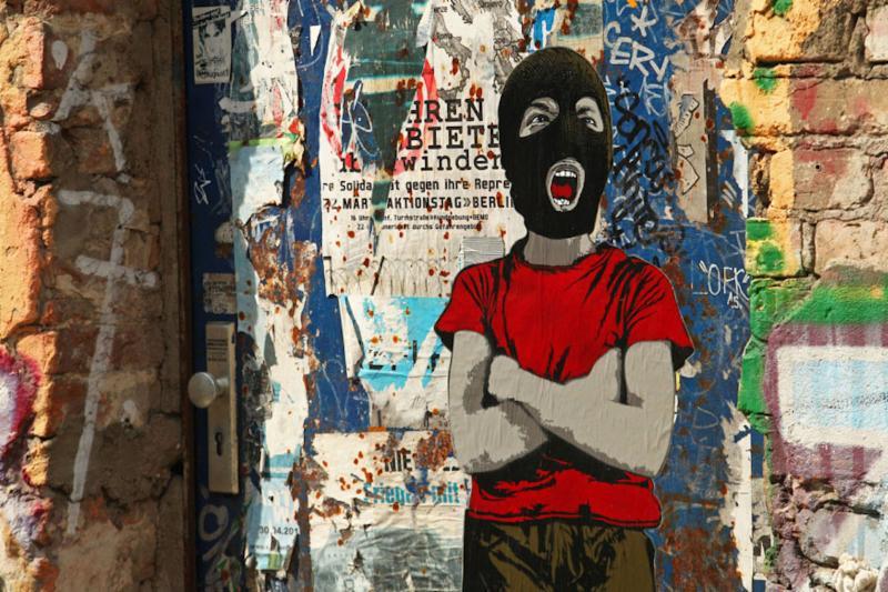Street Art and Graffiti Words