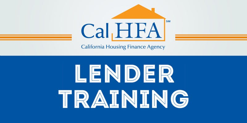 CalHFA Onsite Training