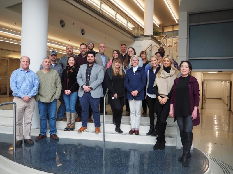 JJ McDonnell Group visits IMET