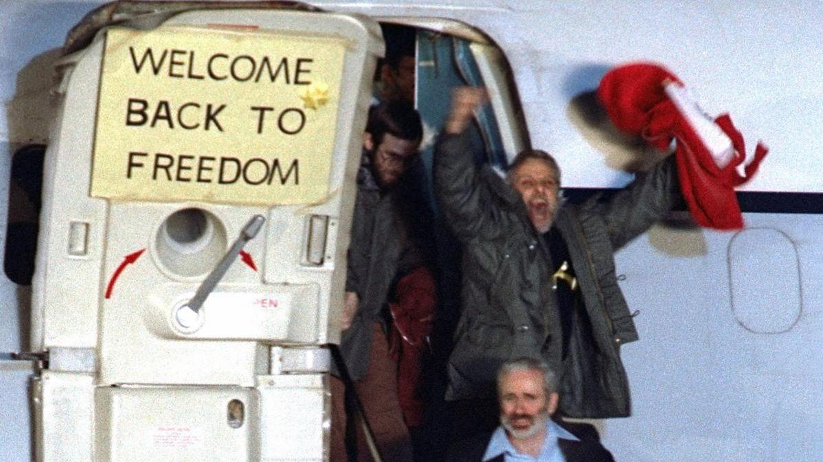 Iran Hostages Return