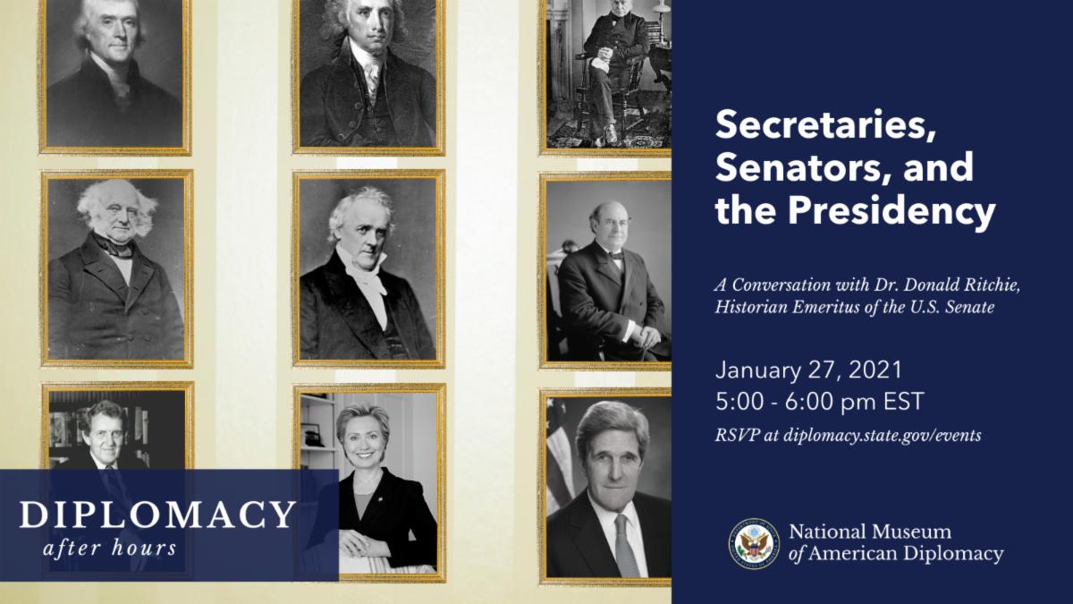 Event Invitation Secretaries, Senators, and the Presidency