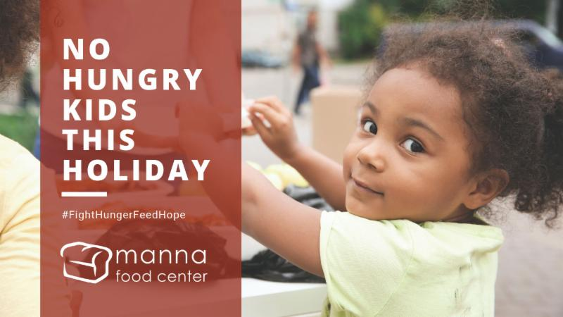 No Hungry Kids This Holiday - Give Today