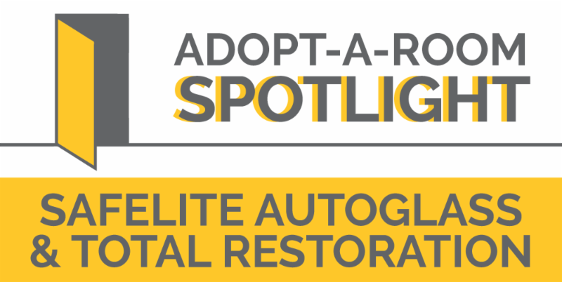 Adopt-A-Room Spotlight: Safelite AutoGlass & Total Restoration