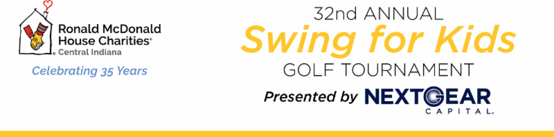 32 annual swing for kids golf tournament header