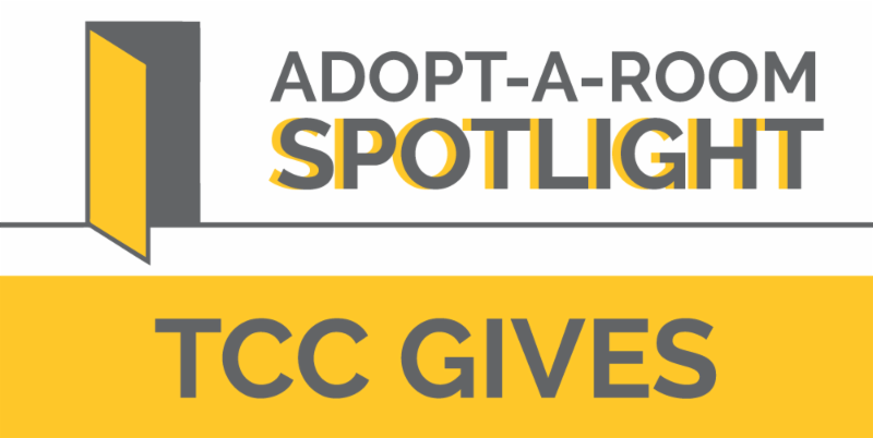 Adopt a Room Spotlight_ TCC Gives graphic