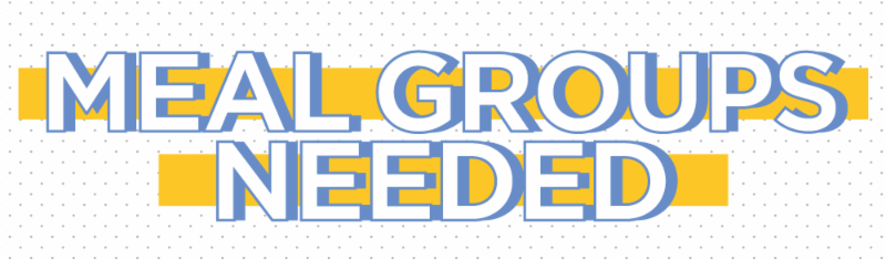 Meal groups needed graphic