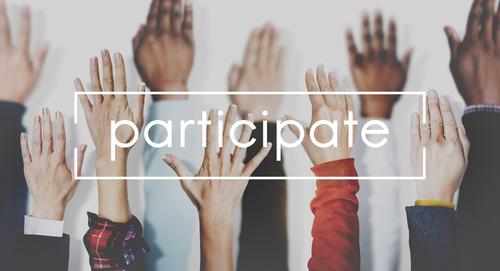 Participate Collaboration Support Involved Concept