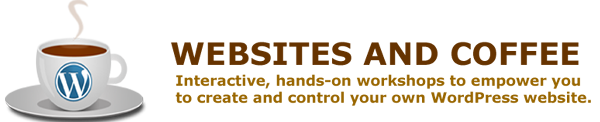 Websites and Coffee header