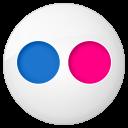 Flickr button