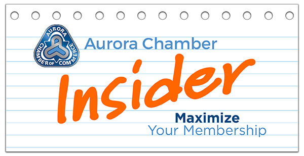 Maximize your membership with the Aurora Chamber of Commerce!