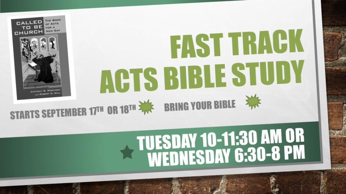 Bible Study Fall 2019