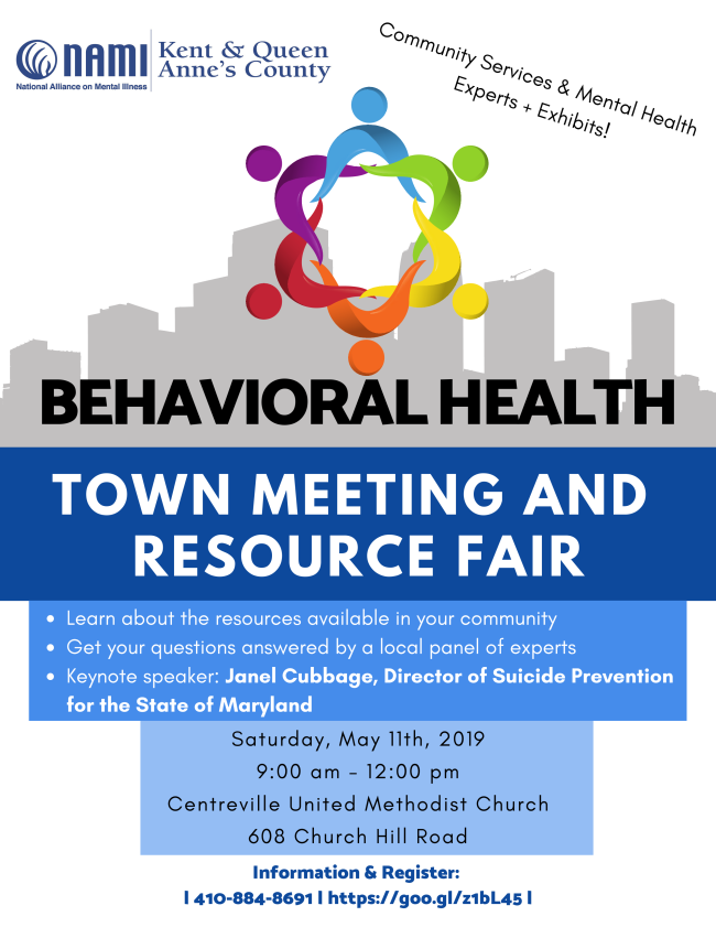 Join Us for a Town Meeting on Behavioral Health!