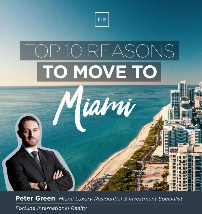 Top Ten Reasons to Move to Miami