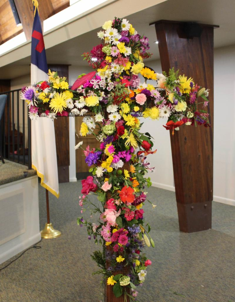 Flower Cross 2017