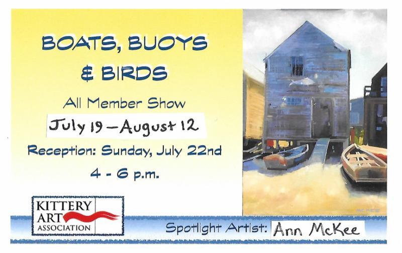 Boats Buoys Birds