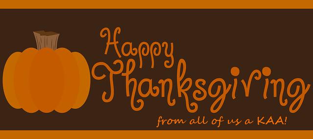 KAA Thanksgiving