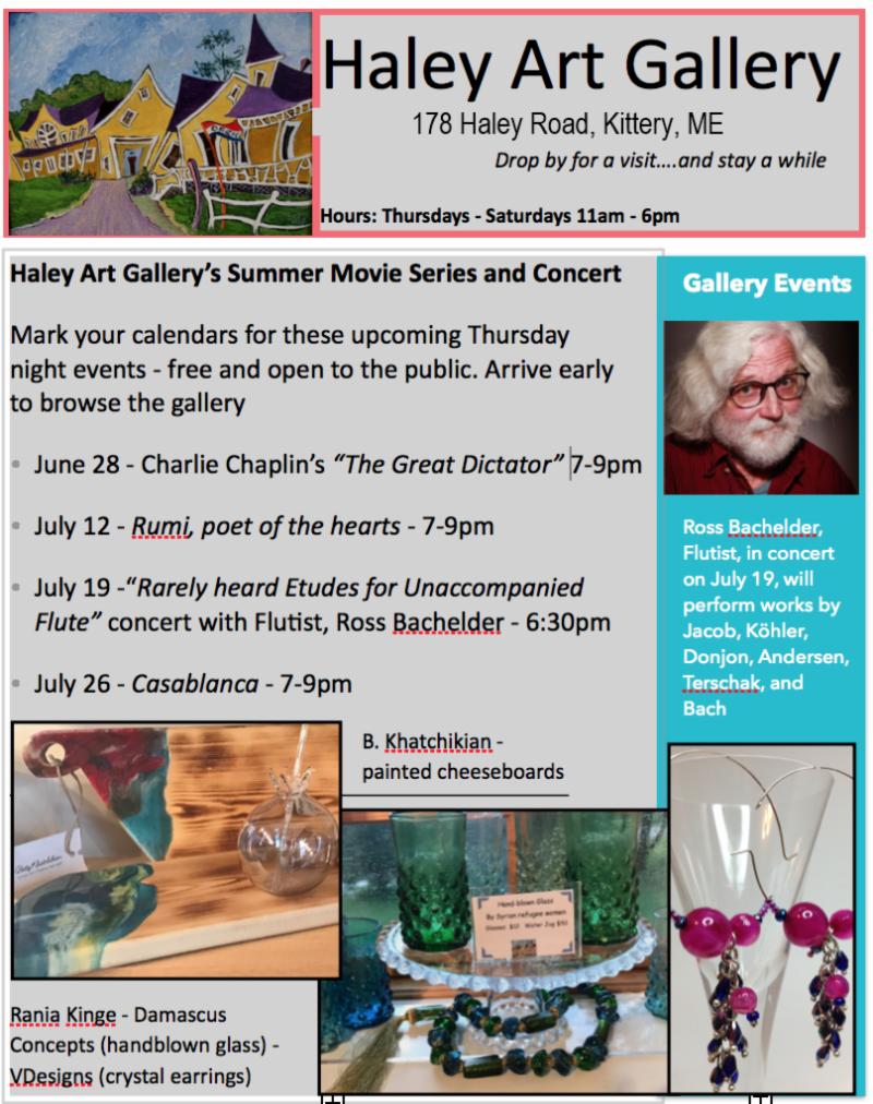Haley Art July 2018