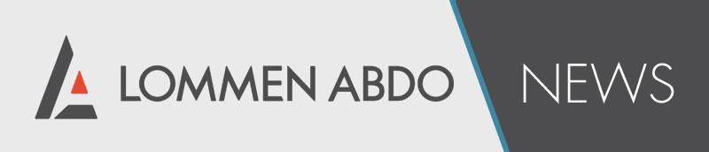 Lommen Abdo News Logo