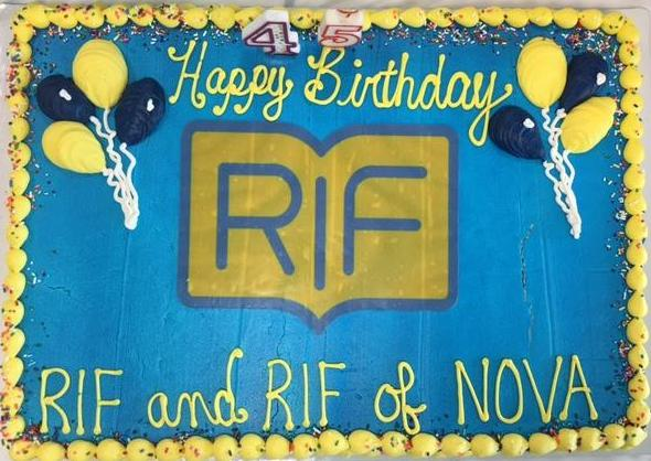 RIF NOVA birthday cake