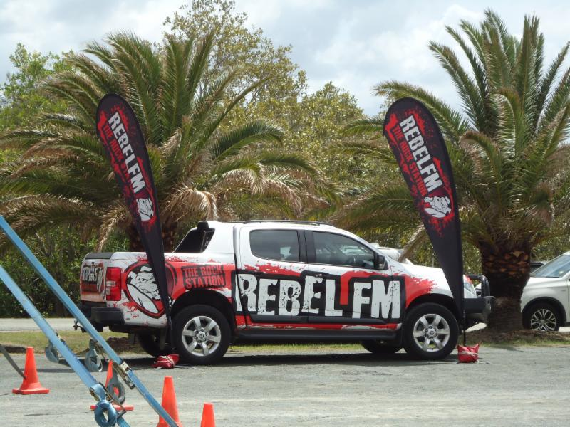 Rebel FM at Prawn Day