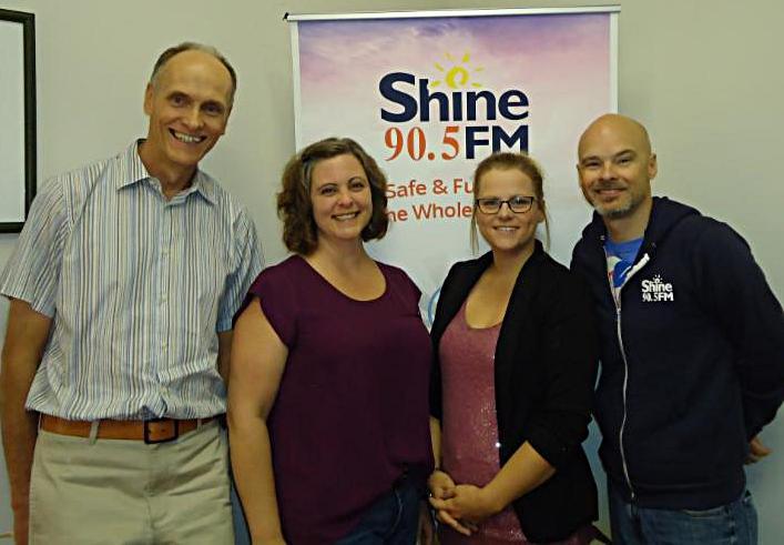 Shine Red Deer Staff