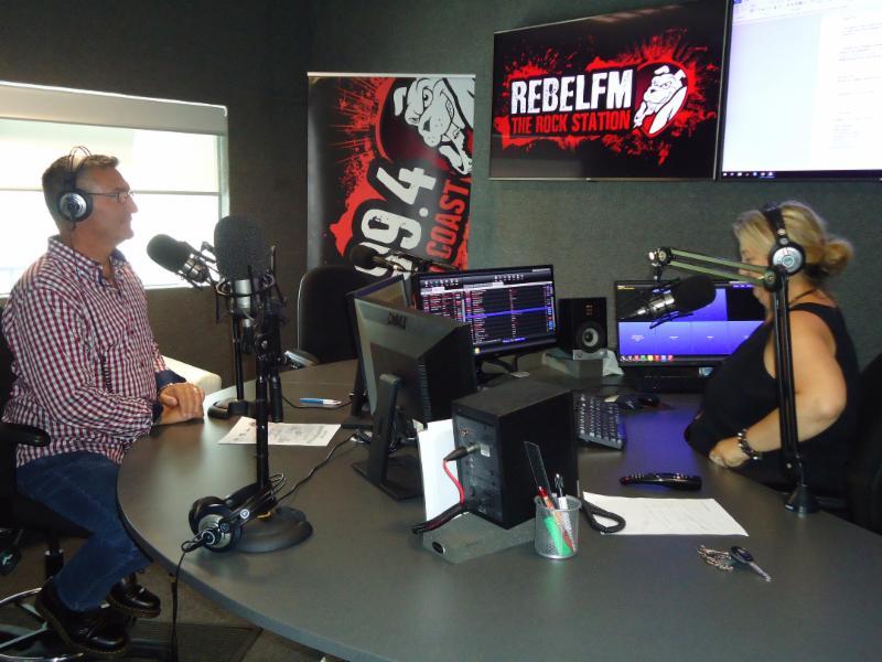 Rebel FM morning show