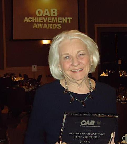 Gail Payne and award