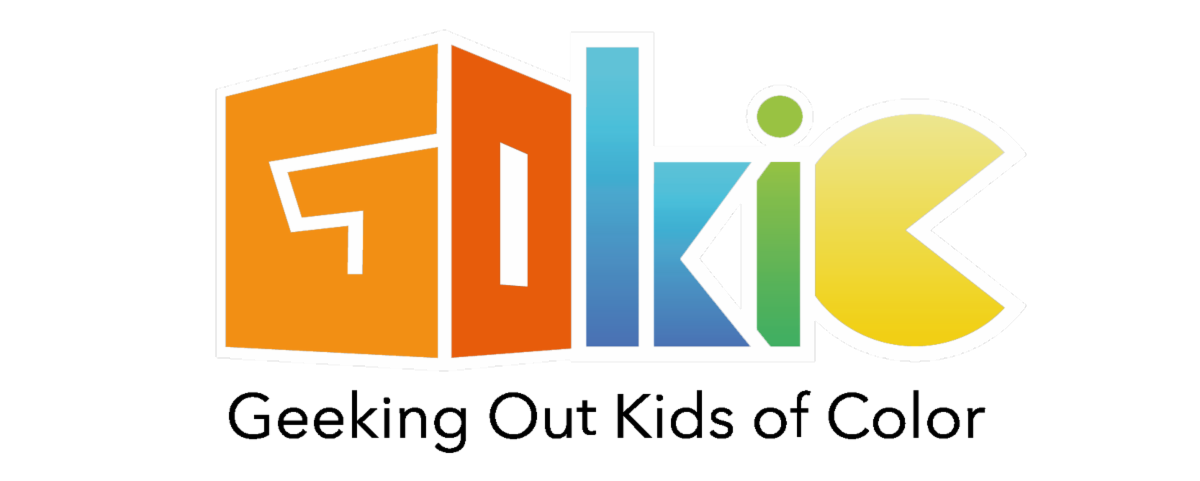 Logo for Geeking Out Kids of Color organization