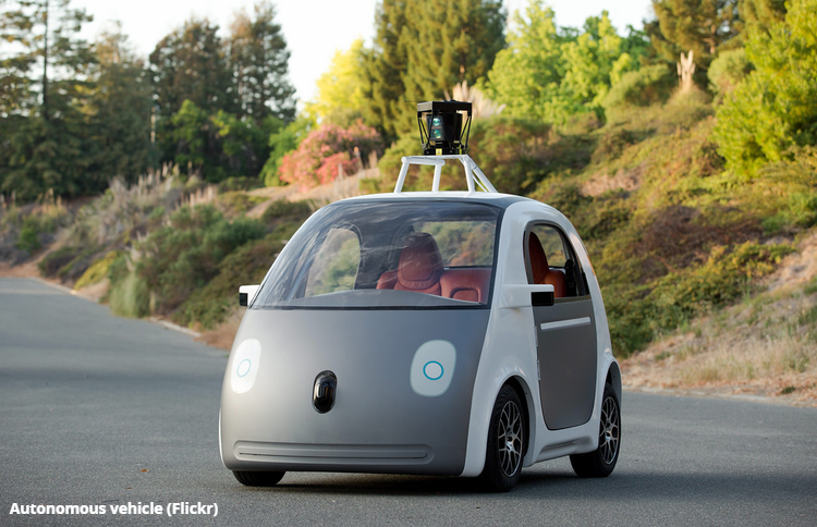Autonomous vehicle (Flickr)