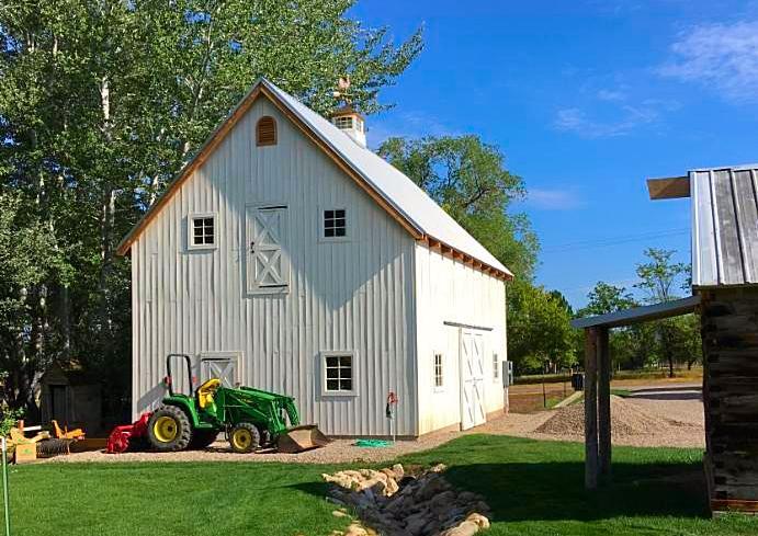 Summer Barn Sale: 24x36 Timber Frame Kit