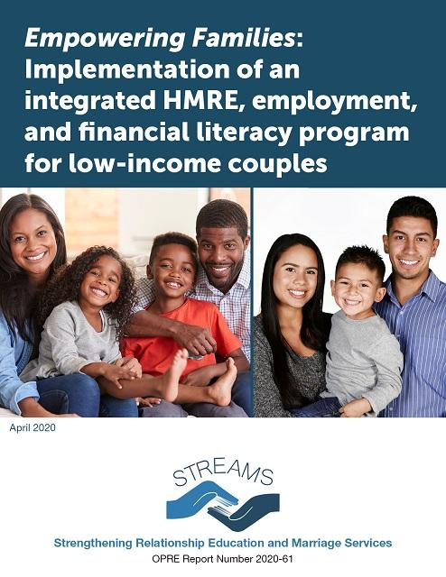 Empowering Families Implementation of an integrated HMRE employment and financial literacy program for low-income couples