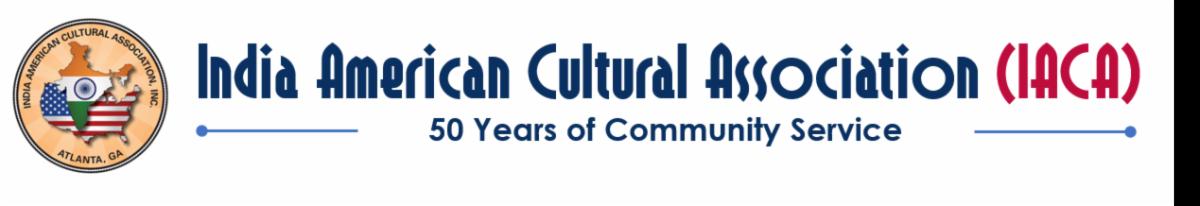 India-American Cultural Association (IACA)