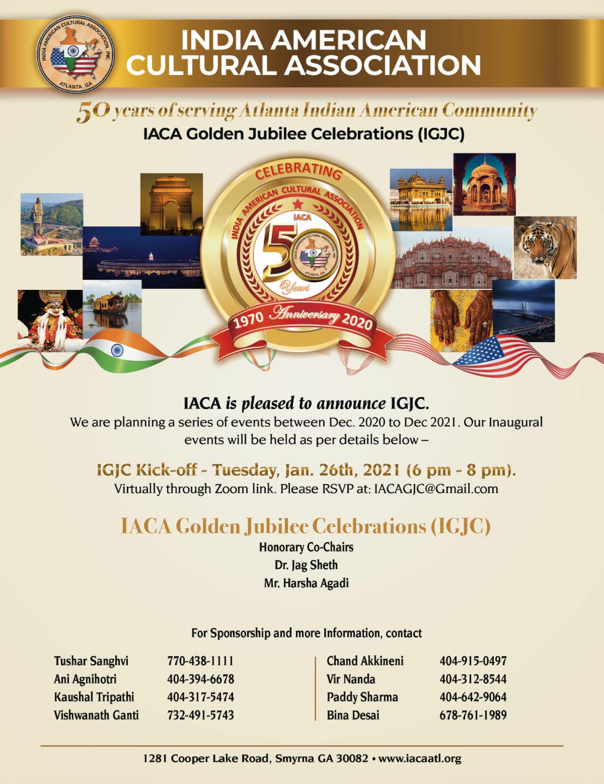 IACA Golden Jubilee Celebrations Kick Off